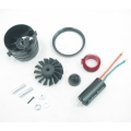 XRP 70mm 14 Blade Ducted Fan + 2200kv Motor For 5 - 6S