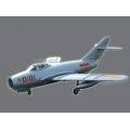 RClander Mig 17 Silver Chinese 90mm